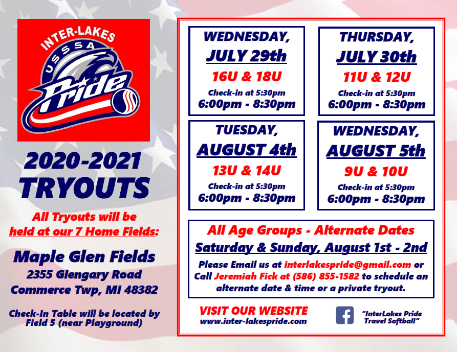 Tryouts Info & Registration